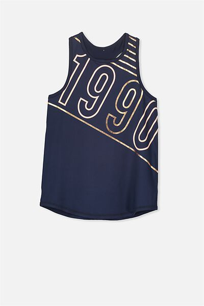 Free Active Racer Tank, OBRIEN BLUE/1990