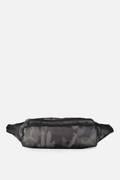 Free Sling Bag, BLACK OLIVE/CAMO