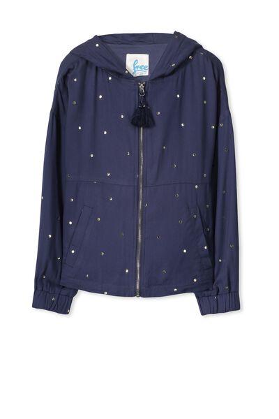 Sharni Jacket, OBRIEN BLUE/SPOT