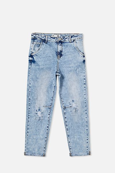 Boys Street Jean, UTAH LT BLUE WASH