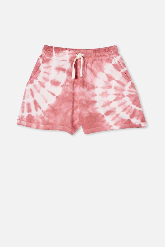 Bella Knit Short, VERY BERRY TIE DYE