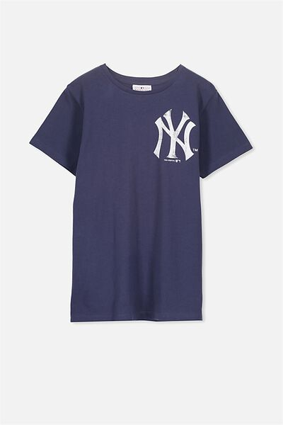 Louis Licence Tee, CAPTAINS BLUE/NY