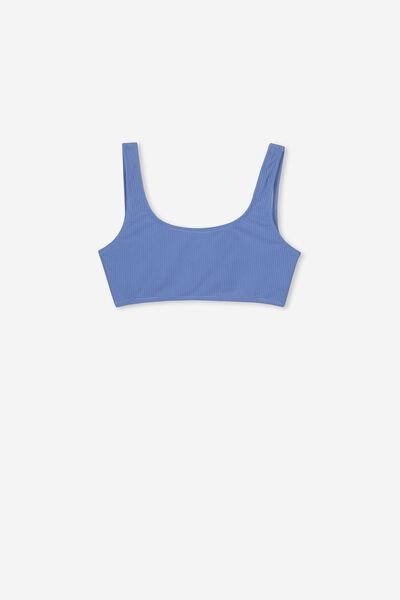 Tropic Bikini Top, SWIM BLUE