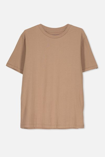 Equal Tee, TAWNY BROWN