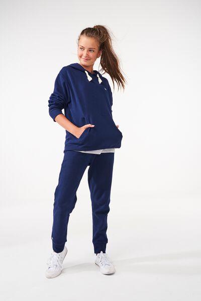 Equal Track Pant, NAVY