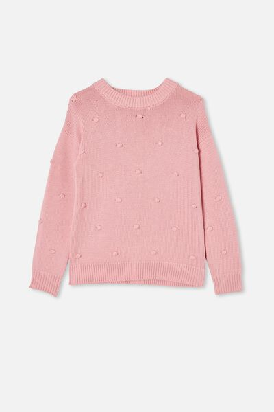 Piper Knit Jumper, MARSHMALLOW