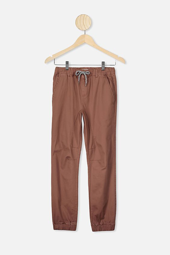 Downtown Jogger, RUSTY BROWN