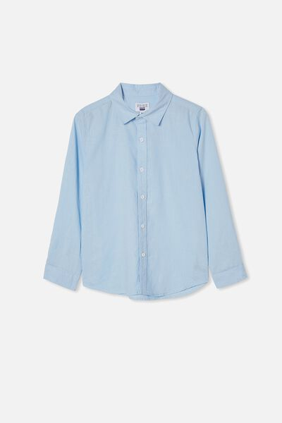 Free Boys Harper Ls Shirt, FROSTY BLUE