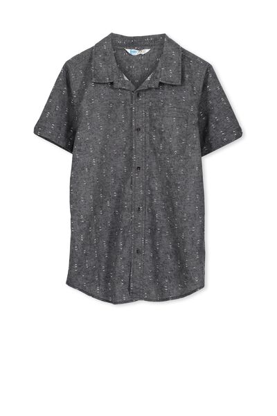 Joshua S/S Shirt, GRAPHITE/ARROW