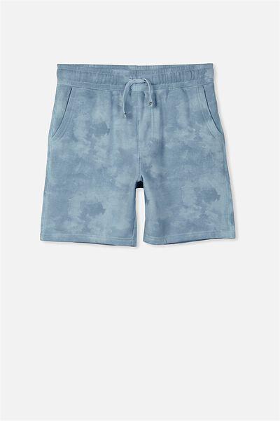 Game Knit Short, CELESTIAL BLUE/CLOUD