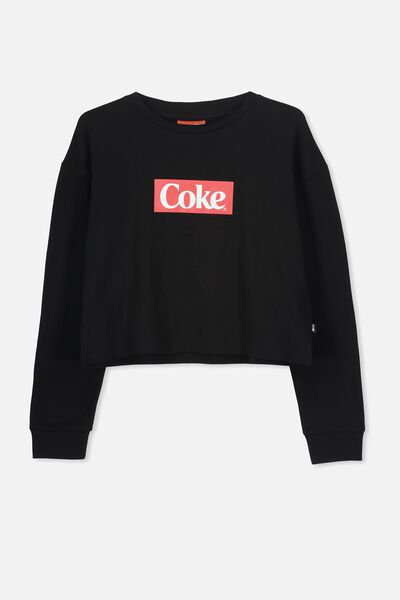 Girls Licence Ls Tee, LCN CC/BLACK COKE