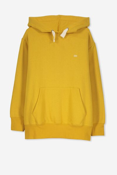Equal Fleece Hoodie, GOLD GLOW