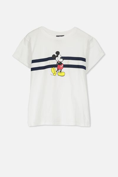 Lucy Licence Tee, WHITE/CLASSIC MICKEY