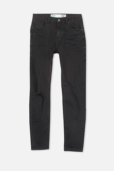 Brad Denim Jean, BLACK