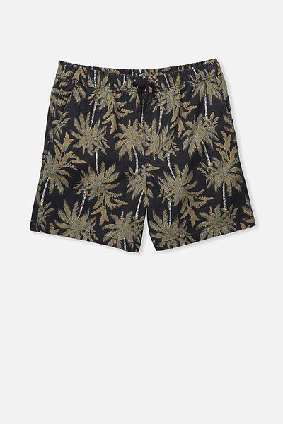 Swim Short, TROPICAL PALMS