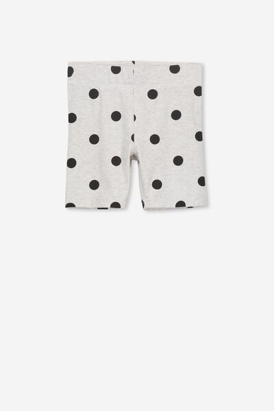 Hailey Short, SUMMER GREY MARLE/BLACK SPOTS