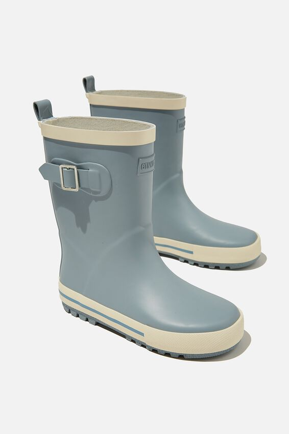 Fashion Gumboots, CUMULUS GREY ECRU