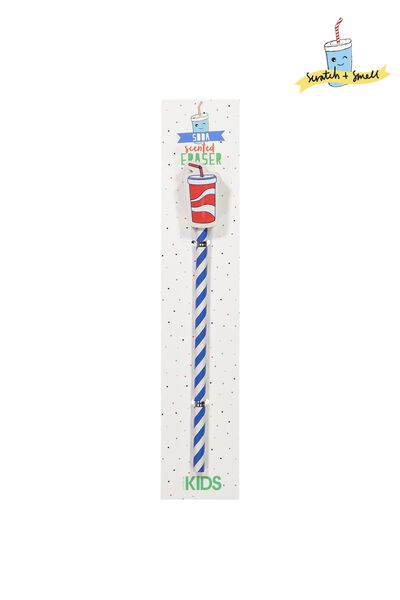 Kids Pencil W/Eraser, SNS LEMONADE SODA