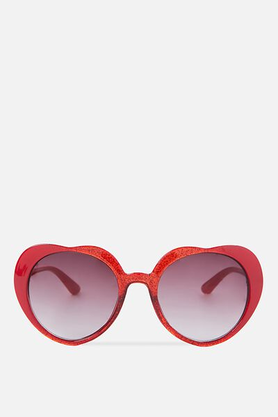 Kids Heart Sunnies, RED