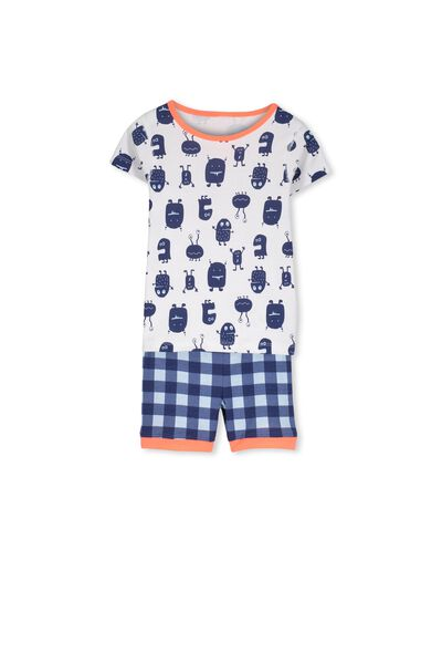 Joshua Ss Boys Pj Set, MONSTER MASH