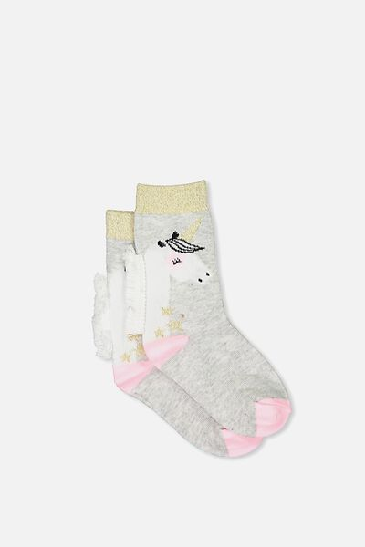 Fashion Kooky Socks, NEW GLOW IN THE DARK UNICORN