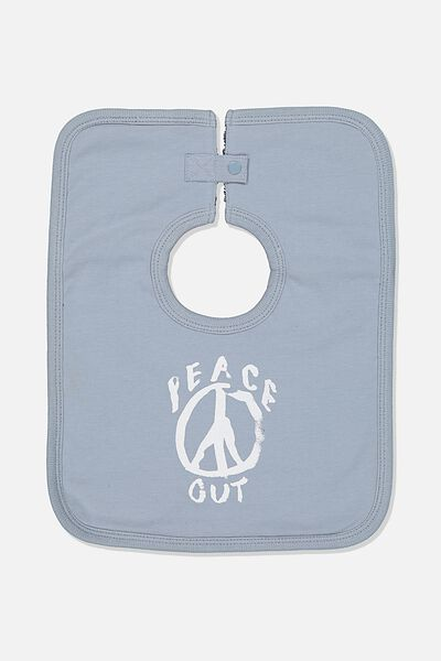 The Everyday Bib, RAIN CLOUD/PEACE OUT