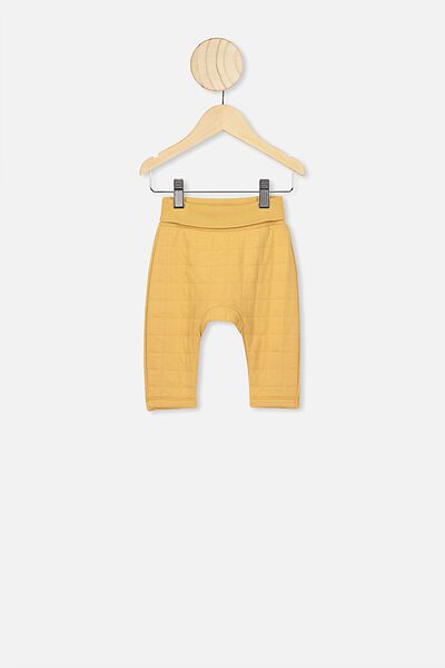 Rory Quilted Trackpant, VINTAGE HONEY