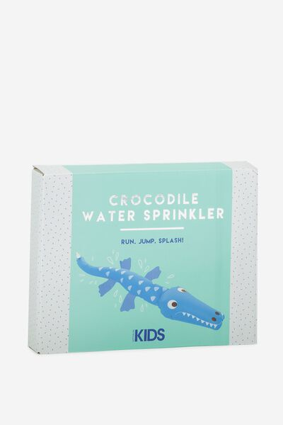 Kids Crocodile Sprinkler, MULTICOLOURED