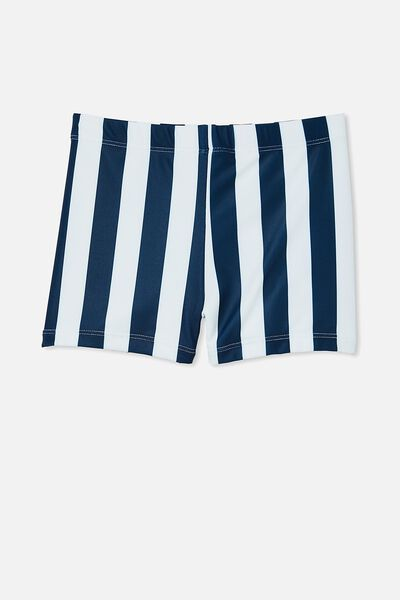 Billy Boyleg Swim Trunk, CANDY STRIPE/INDIGO