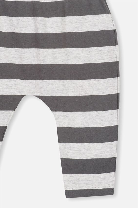 The Legging, CLOUD MARLE GRAPHITE GREY STRIPE