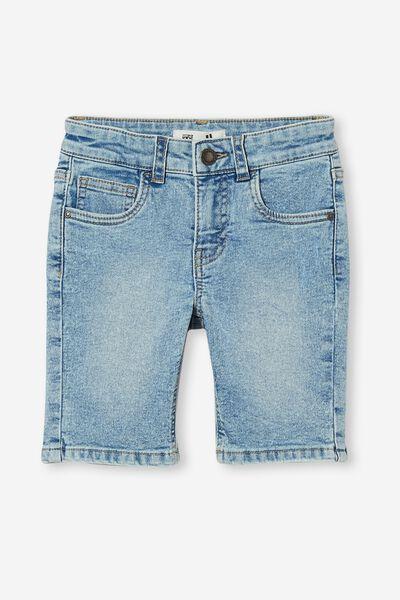 Slim Fit Short, BYRON MID BLUE