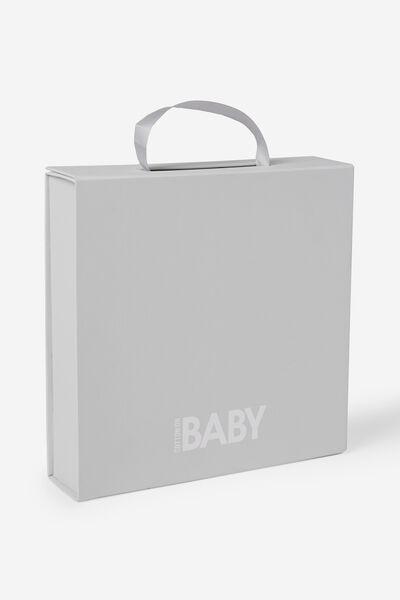 Baby Gift Box, WHITE