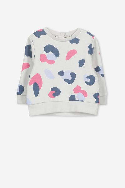 Billie Sweater, WINTER GREY/PINK CAMO