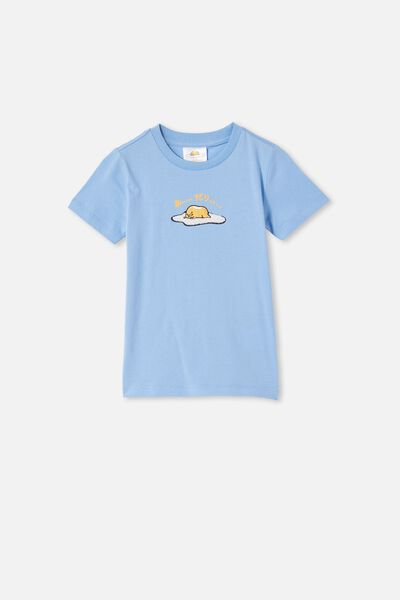 Short Sleeve License Embellished  Tee, LCN SAN DUSK BLUE / GUDETAMA