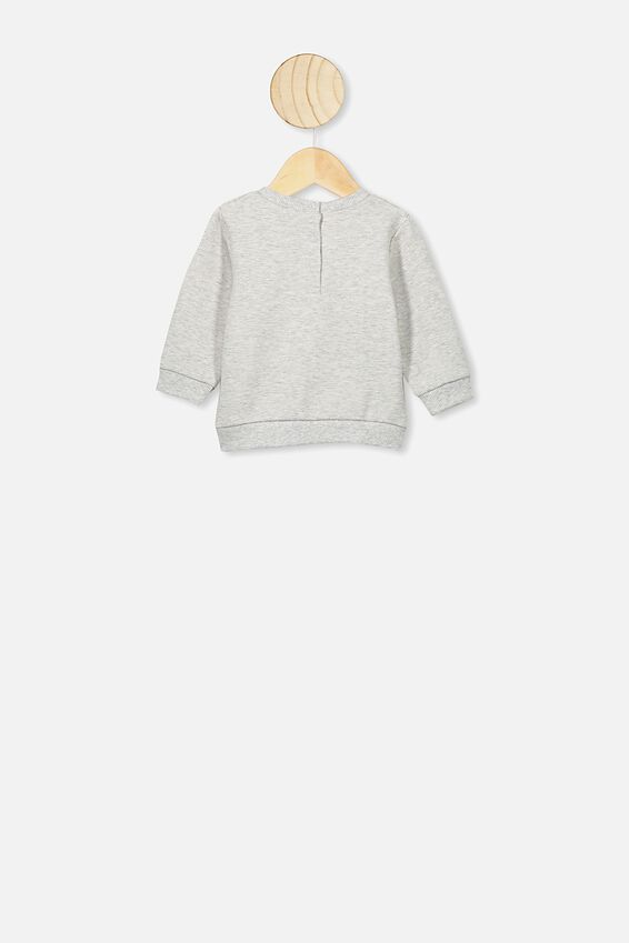 Bobbi Sweater, CLOUD MARLE/YOUR PLANET NEEDS YOU