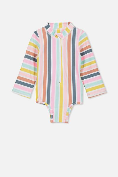 Malia Ls One Piece, GELATI MULTI STRIPE