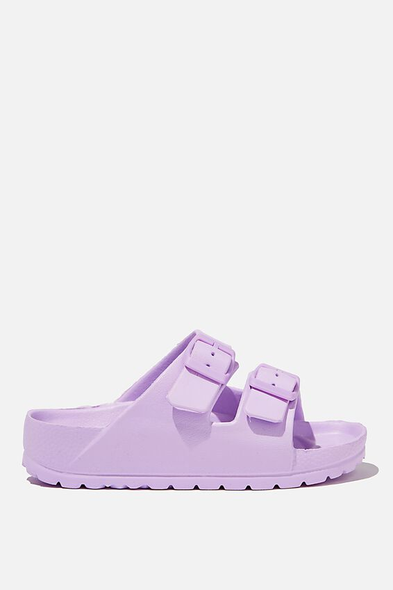 Twin Strap Slide, PALE VIOLET