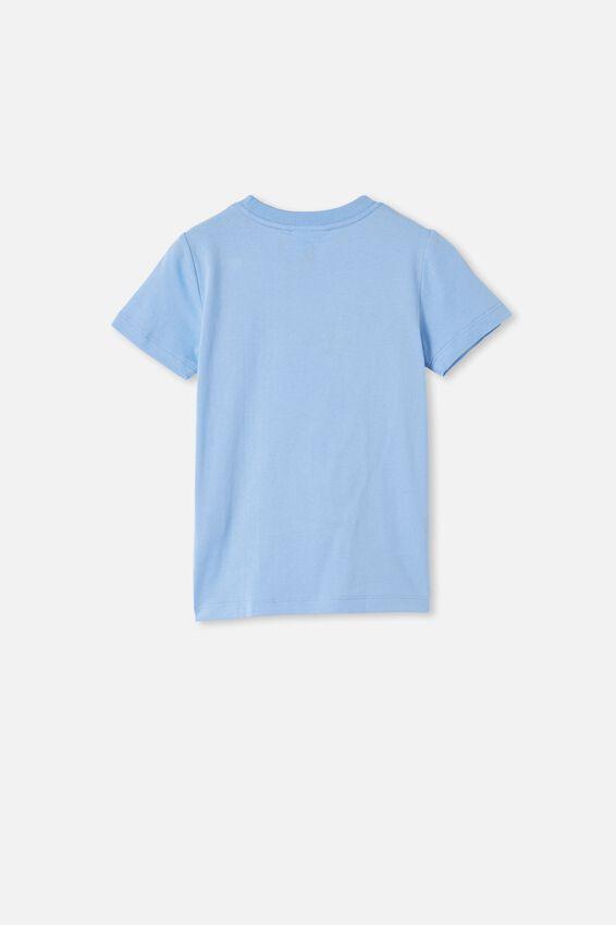 Short Sleeve License Embellished  Tee, LCN SAN DUSK BLUE / GUDETAMA