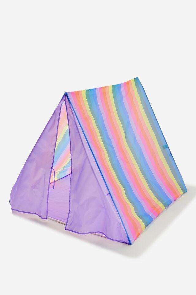 Kids Play Tent, RAINBOW STRIPE