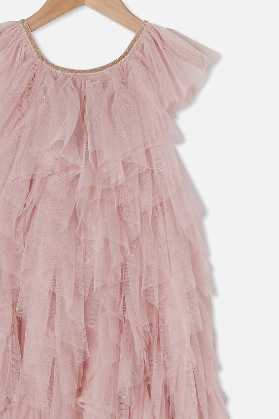 Alicia Dress Up Dress, DUSTY PINK