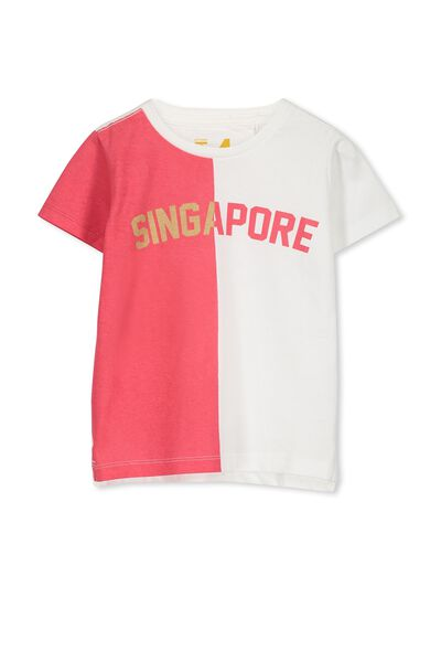 Max Short Sleeve Tee, SINGAPORE SPLICE/SIS
