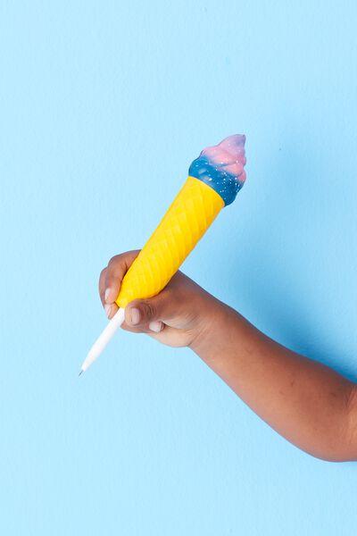 Sunny Buddy Squishie Pen, ICECREAM