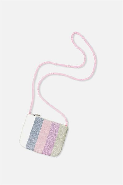 Glitter Party Bag, RAINBOW GLITTER