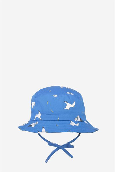 Kids Bucket Hat, BLUE/SEAGULLS