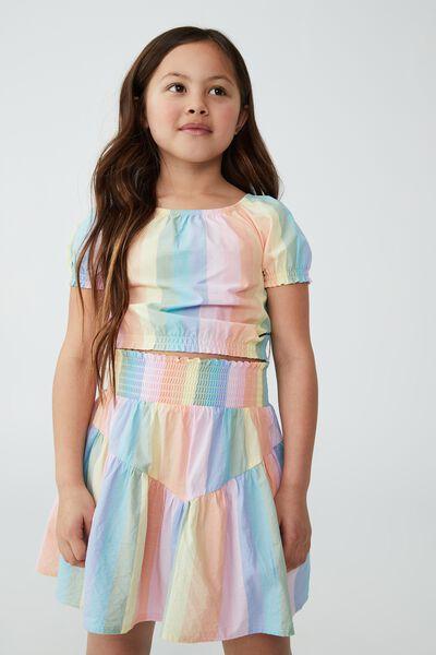 Marigold Skirt, RAINBOW STRIPE