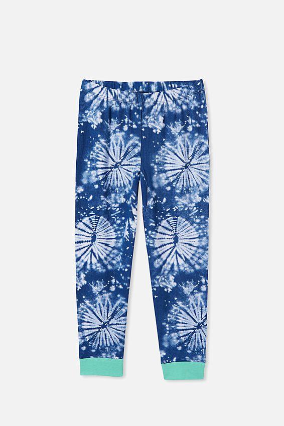 Orlando Long Sleeve Pyjama Set, ASTRONAUT TIE DYE/INDIGO