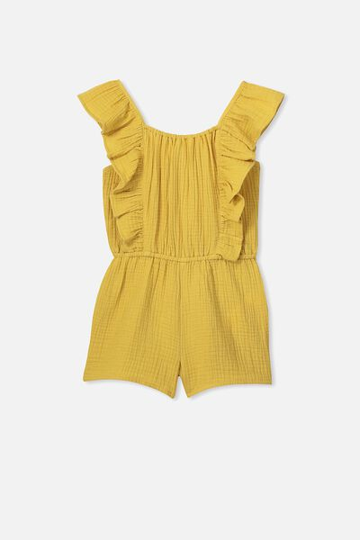 Kieri Playsuit, HONEY GOLD