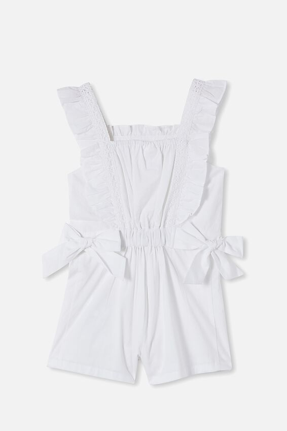 Ruby Playsuit, WHITE