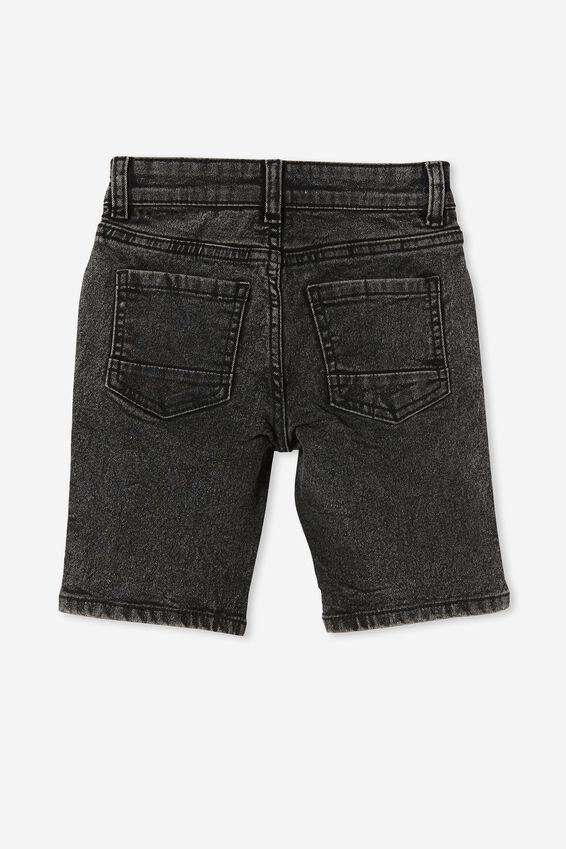 Slim Fit Short, COTTESLOE WASHED BLACK