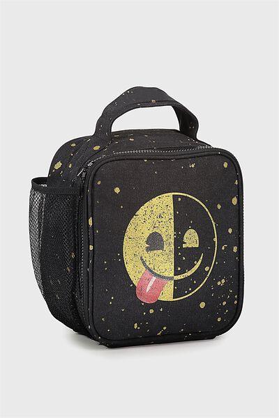 Kids Lunch Bag, EMOJI HALF SMILE